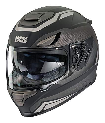 IXS 315 2.0, Größe:XX-Large, Farbe:matt schwarz-anthrazit-grau