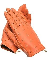 3272a25fc93 YISEVEN Mujer (piel de cordero guantes de piel Para conducción de  primavera