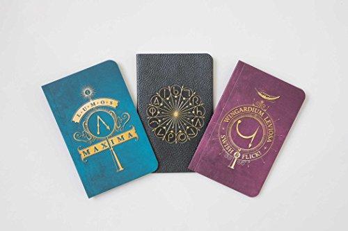 Harry Potter. Spells Pocket Notebook Collection (Harry Potter Journal Collectn) por Vv.Aa
