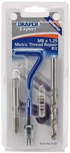 Draper Expert 21714 M5 x 0,8 kit de réparation de filetage métrique, DHCK-A