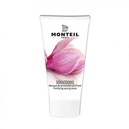Monteil Solutions Purifying Spring Maske Magnolie, reinigende Gesichtsmaske, 1er Pack (1 x 3 ml)