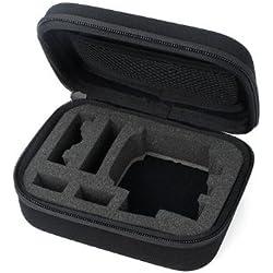 JMT EVA portátil bolsa dura cubierta protectora a prueba de choques para Gopro HD Hero3 Hero3 + cámara negro