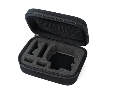 EVA portatil bolsa dura cubierta protectora a prueba de choques para Gopro HD Hero3 Hero3 + camara negro  100% Brand New  12 x 7 x 15 cm  EVA made  For gopro hero3 and hero3+  Weight 149g