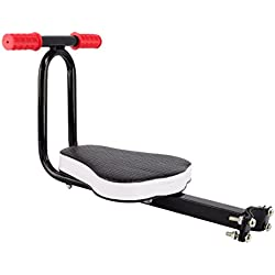 TOOGOO Siège T de Sécurité de Vélo Détachable pour Enfant Sièges de Vélo pour Enfant Transporteur Chaise de Siège Avant de Vélo Siège de Protection de Sport Extérieur