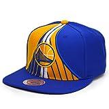 Mitchell & Ness Snapback Cap HWC Short Split Golden State Warriors royal