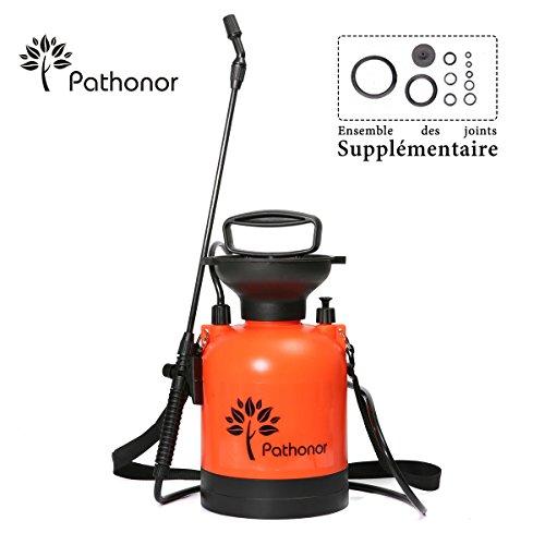 PATHONOR 3L Pulvérisateur à Dos avec Lance Longue&Flexible,...