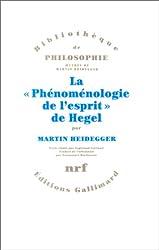 La «Phénoménologie de l'esprit» de Hegel