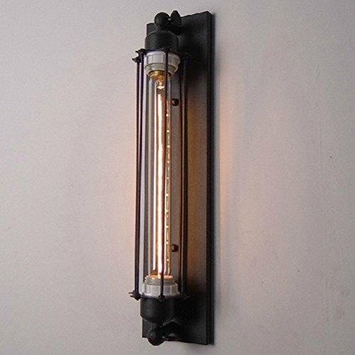 Café Retro Kreative Bar Industrie Wandleuchten der Wand Leuchten am der Studie Schmiede Eiserne Wandlampen Flöte Lampe mit Edison Glühbirne 40w Single - Single Lichtschalter