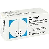 ZYRTEC Filmtabletten 100 St Filmtabletten preisvergleich bei billige-tabletten.eu