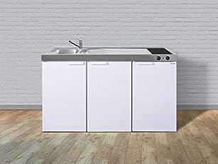 Mini Küchenblock Mit Kühlschrank : Miniküche nr preiswerte singleküche kleine einbauküche