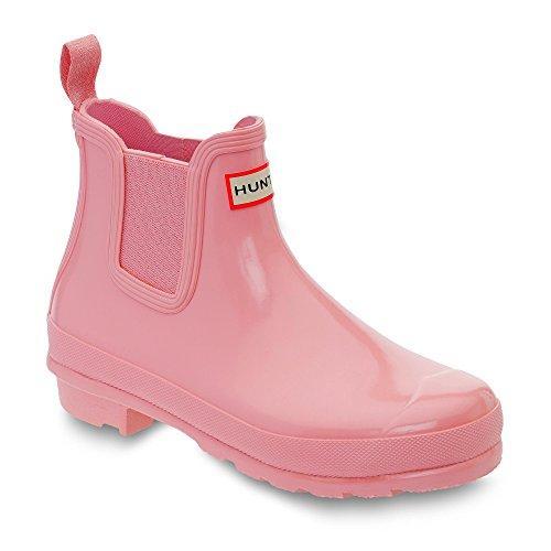 Hunter Chelsea Boots Rosa