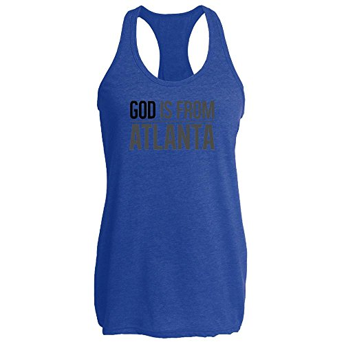 Pop Threads God Is From Atlanta Tank Top by