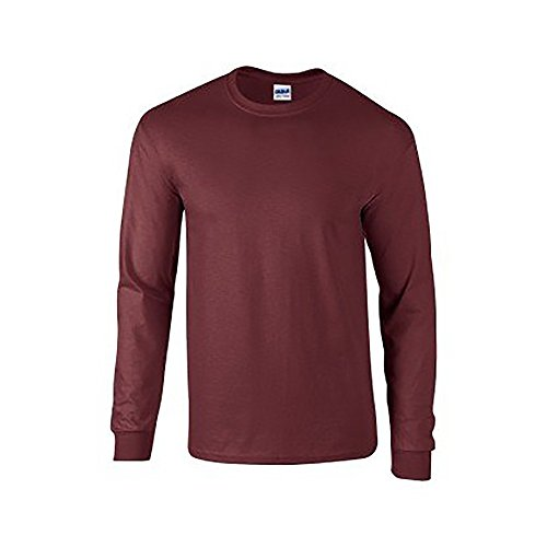 GILDANHerren T-Shirt Maroon