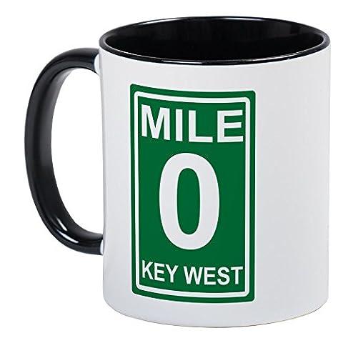 CafePress - Mile Marker Zero Key West Coffee Mug -