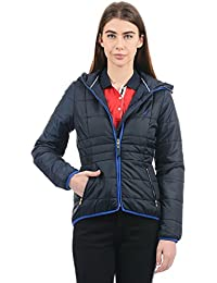 Nautica Women Quilted Jacket(_8907163588975_Navy_Small_)