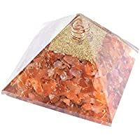 Orgonite - Natural Carnelian Orgonite 3.5 Inch Chakra & Reiki Healing Aura Cleansing Crystal. preisvergleich bei billige-tabletten.eu