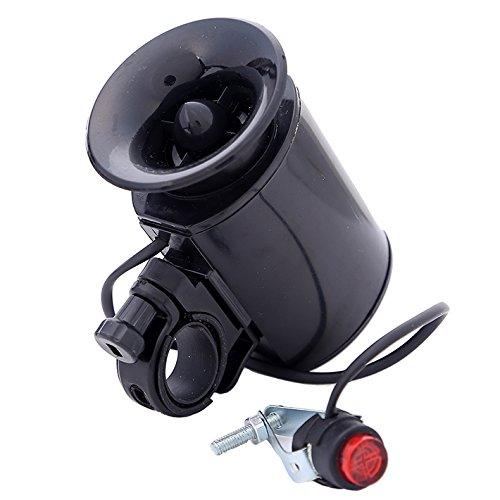 Buwico® Polizei 4-Melody Super Laut Bike Fahrrad Polizei Auto 6LED Licht 4Sounds Trompete Horn Bell - Fahrrad-polizei