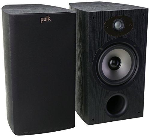 Polk Audio TSx 220B Bookshelf Speaker - Black  available at amazon for Rs.32399