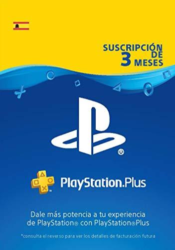 PlayStation Plus Suscripción 3 Meses | Código de descarga PSN - Cuenta...