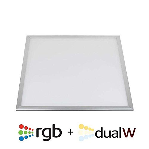 Panel LED 36W, RGB + Blanco DUAL, RF, 60x60cm, , Regulable