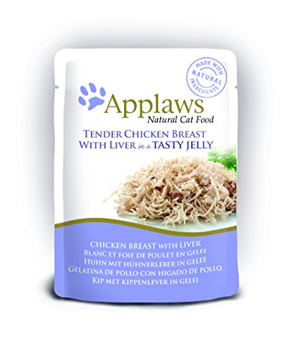 Applaws Cat pouch tuna wholemeat in jelly, Beutel, 16er Pack (16 x 70 g)