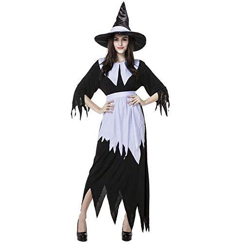Fashion-Cos1 Neue Ankunft Halloween Party Frauen Bühne Cosplay Hexe Kostüm Für Mädchen Unregelmäßige Magie Mädchen Spiel Kleid