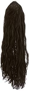 Marco Porta 423 - Cuenta del vampiro, el pelo largo y rizado, de primera calidad, tamaño estándar, negro