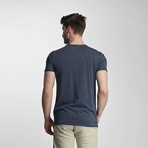 SHINE Original Uomo Maglieria/T-Shirt Mélange Blu