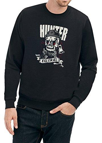 Certified Freak Hunter Killer Sweater Black XXL