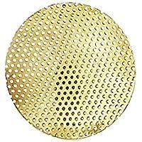 nklaus Goldene Incienso Grabadora filtro de repuesto rejilla Diámetro 5cm 1639 Menge: 5 Stück Menge