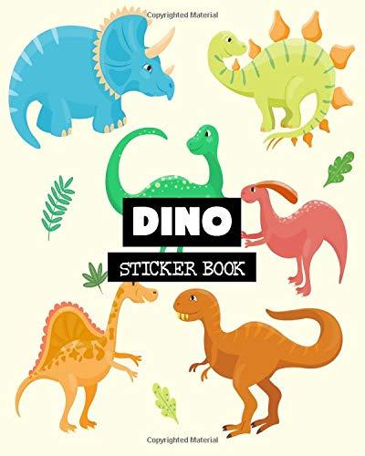 Dino: Sticker Book: Volume 13 por Ashworth Ava