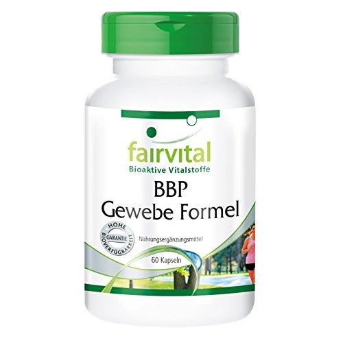 BBP Gewebe Formel – für 1 Monat – VEGAN – HOCHDOSIERT – 60 Kapseln