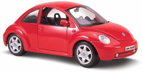 Maisto special edition - volkswagen new beetle beetle beetle model car 1:25 - Rouge  (31975) 4bf2e1