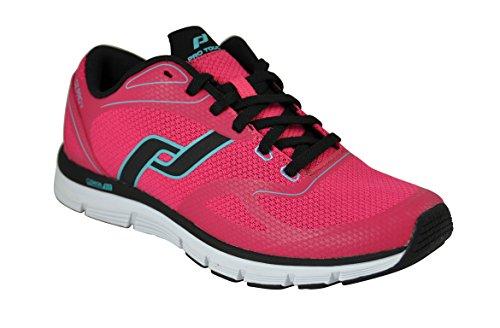 Pro Touch Mujer Zapatillas Running-oz Pro V Rojo/Negro/Turquesa