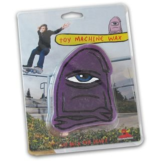 Toy Machine Skateboard Curb Wax (purple)