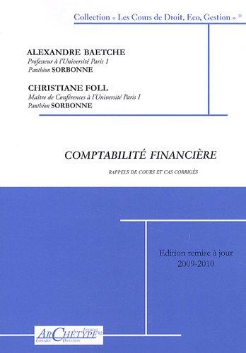 Comptabilité financière : Cas corrigés et rappels de cours, 3 volumes