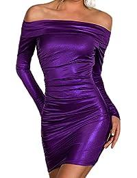 1e84d921fff8 Z Vestito da Partito di Promenade Vestito a Maniche Lunghe Nuova Moda delle  Donne
