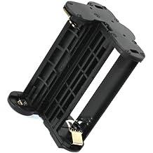 Maxsima - Supporto per batterie AA per Pentax K-500, K500, K-50, K50, K-30, K30, KR, K-r as, Pentax D-BH109 (contiene 4 batterie AA) D-li109.