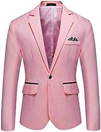 c37e459f2 Amazon.es  Rosa - Trajes y blazers   Hombre  Ropa