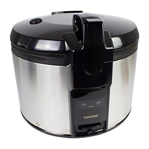 Cuckoo SR-4600 Arrocera premium para gastronomía (4,6 l / 1360 W / 23