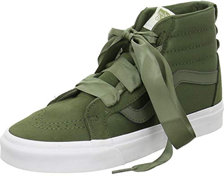 Donna   Uomo Vans Sk8-Hi Donna scarpe da ginnastica verde Flagship store Nuovo stile Elegante e solenne | una grande varietà  | Uomo/Donna Scarpa