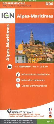 Alpes-Maritimes 2018 (Carte Départementale)