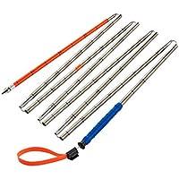Ortovox Erwachsene Steel 320+ PFA Sonde, Silver, 320 cm