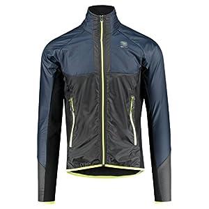 Sportful Cardio Wind Jacket – Black iris/Black