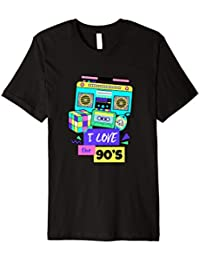 I Love The 90's 90er Jahre Tshirt