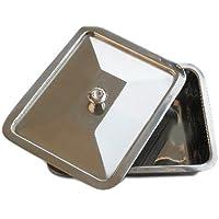 Premium Instrumentenschale Beauty Hygiene-Box mit Deckel 28 cm x 23 cm x 5.5 cm 5.5 cm preisvergleich bei billige-tabletten.eu