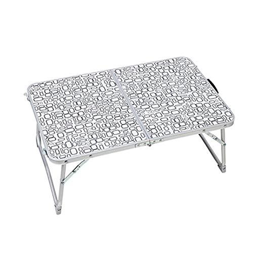 Byx- Table Pliante - Table de lit Table Basse - Table de lit Pliante Pratique d'extérieur Multifonctions léger et léger -Table Pliable (Couleur : B)