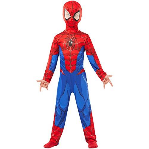 Spiderman 9 10 Kostüm Jahre - Rubie 's 640894Offizielles Marvel Spider Man, Classic Kind costume-age Höhe 140cm, Jungen, 9-10 Jahre