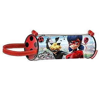 Miraculous–Estuche escolar cilíndrico Ladybug