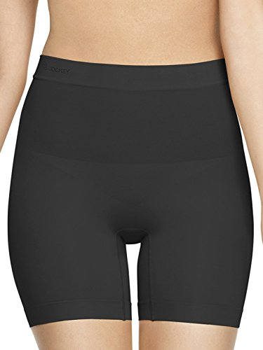 Jockey Women's Polyamide Seamless Shaping Short (6703_Black_S)